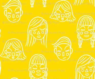Face the Day in Yellow