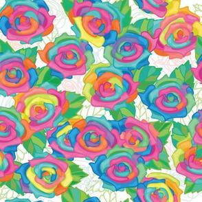 Rainbow Bouquet - Large
