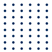 Mini Dots in Royal Navy (inverted)