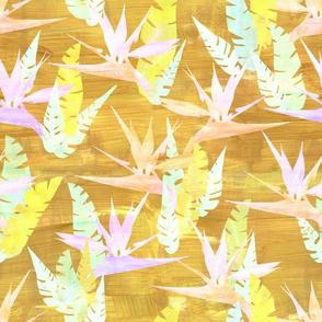 birdie tropical yellow