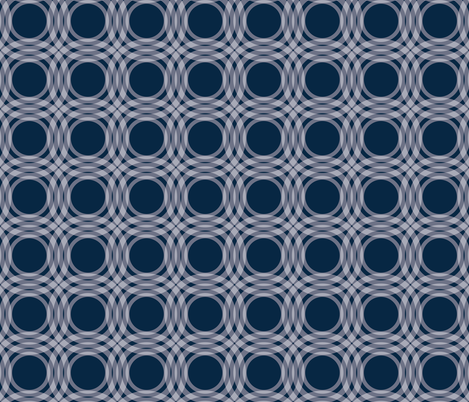 Bauhaus Circles fabric by scarlette_soleil on Spoonflower - custom fabric