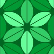 07656043 : R6 lens leaf : dark emerald