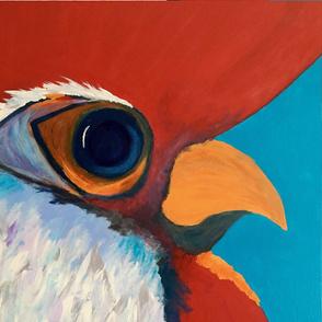 Carolina Gamecock (Rooster #1) - Large