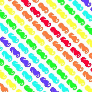 A rainbow of Seahorses