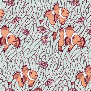 modulo peces payaso