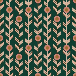 Geometric Vines in Evergreen