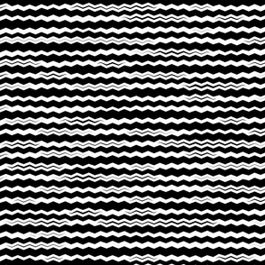 Not your usual zigzag_ horizontal_B&W