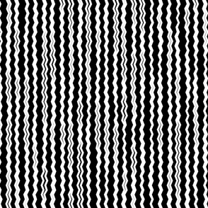 Not your usual zigzag _vertical_ B&W