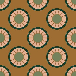 Geometric Circles in Mustard