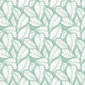 Leafy Pale Greens