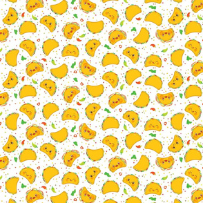 Taco Pattern - Smaller Print