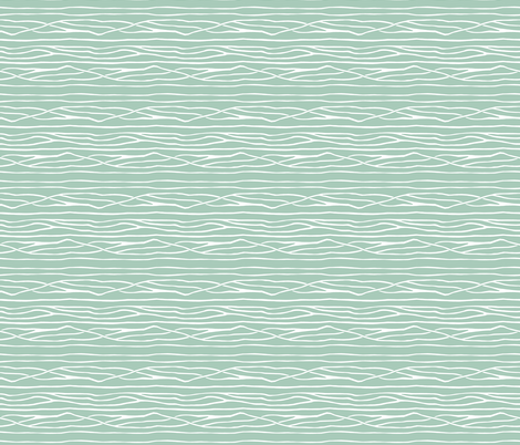 Branches - Teal fabric by rootandbranchpaper on Spoonflower - custom fabric