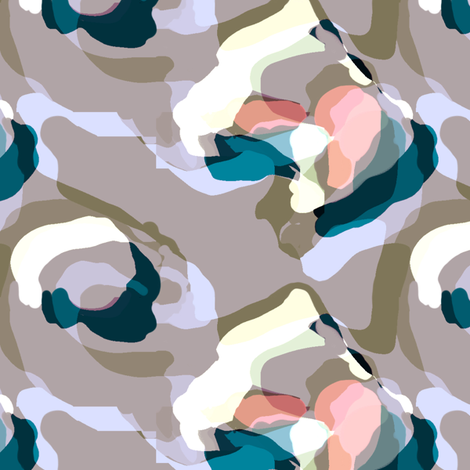 Soft city abstract fabric by susiprint on Spoonflower - custom fabric