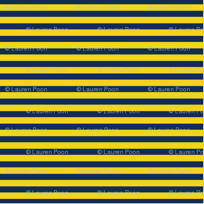 Yellow and navy ticking stripe_large_horizontal_ minions_coordinate