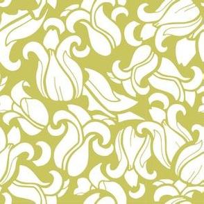Magnolia Doily - Yellow