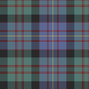 "Cameron of Erracht tartan, 6"" weathered"