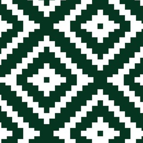 dark green aztec C18BS