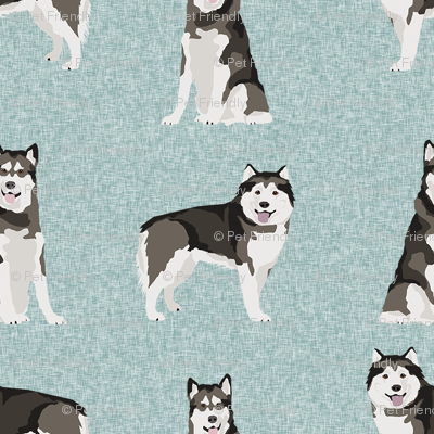 malamute pet quilt b dog breed fabric quilt collection coordinate