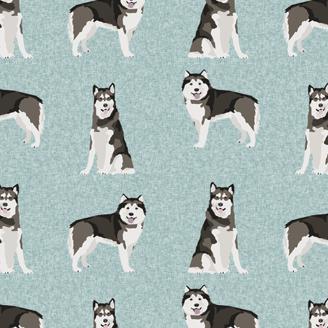 malamute pet quilt b dog breed fabric quilt collection coordinate fabric by petfriendly on Spoonflower - custom fabric