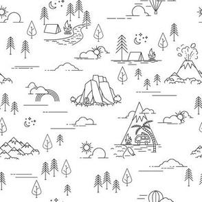 Scandinavian Camping