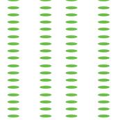 Sleepy Cloud Stripes in Apple Green (inverted)