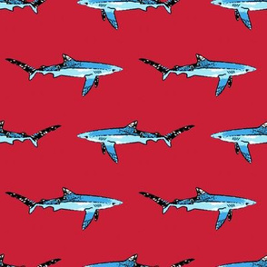 Shark Red