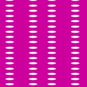 Ellipse Stripe in Magenta