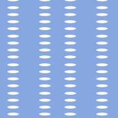 Ellipse Stripes in Periwinkle Blue