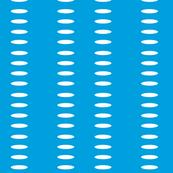 Ellipse Stripes in Surf Blue