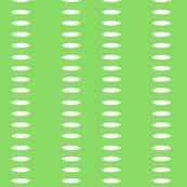 Ellipse Stripes in Bright Green
