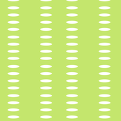 Ellipse Stripes in Bright Lime