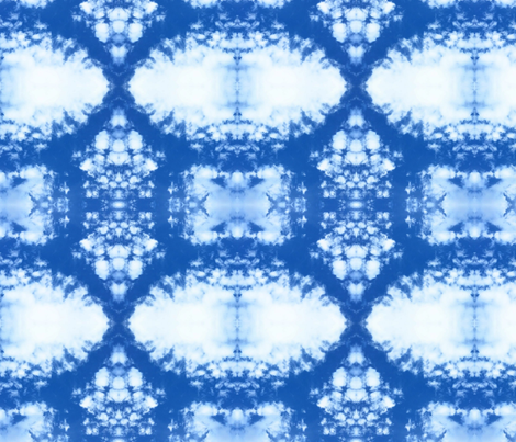 Sky Dye fabric by bejilledbyjillimac_designs on Spoonflower - custom fabric