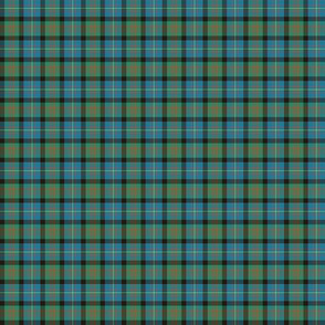 "Cameron of Erracht tartan, 1"" ancient colors"