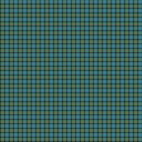"Cameron of Erracht tartan, 1/2"" ancient colors"