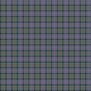 "Cameron of Erracht tartan, 1"" weathered"