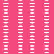 Ellipse Stripes in Hot Pink