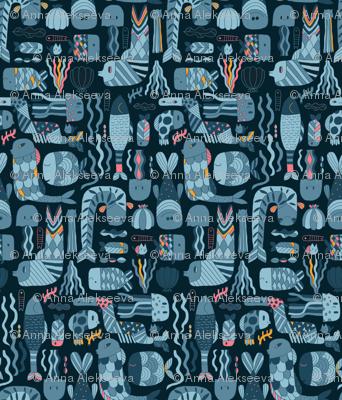 Doodle_fish_pattern
