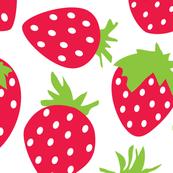 jumbo red strawberries