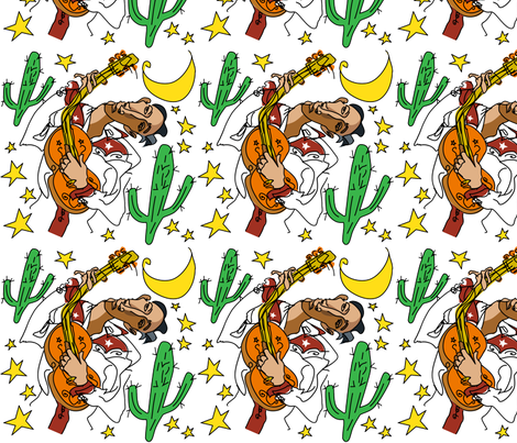 Serenata fabric by magdabowen on Spoonflower - custom fabric