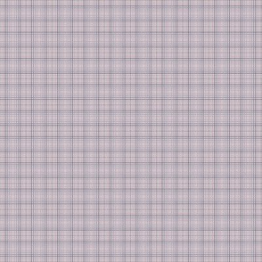 Mauve Blue Grid Checks I