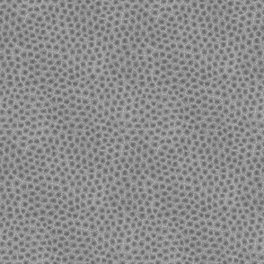 simplified petoskey stone, dark greyscale, tiny