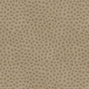 simplified petoskey stone, dark natural, 1/4""