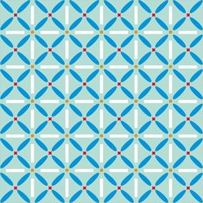 Blue Flower Tiles
