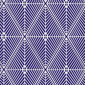 Rhombus Royal Blue