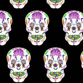 Native American Sugar Skull