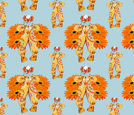 Clownie fabric by rowberry_jam on Spoonflower - custom fabric