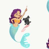 Mermaid and Merpup