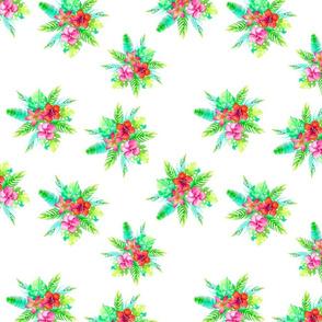 tropical bouqet 9 pattern