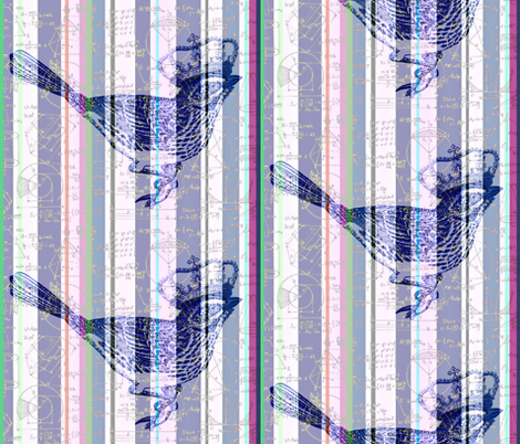 Princess of Euclidian Stripes fabric by walkwithmagistudio on Spoonflower - custom fabric