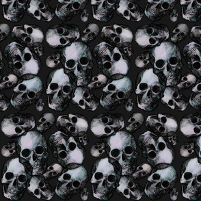Large wicked skulls